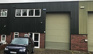 Warehouse in Chaucer Business Park TO LET