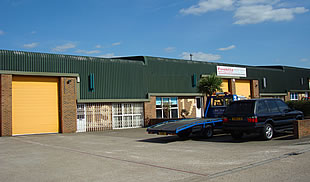Unit to rent on Manford Industrial Estate