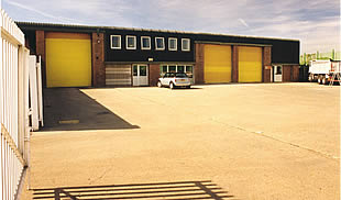 Unit 28/32 Manford Industrial Estate - warehouse