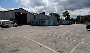 Industrial/Warehouse Unit with Yard TO LET -  Platt Industrial Esate