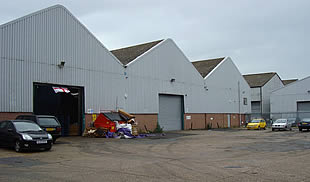 Small and Large Warehouses with Yards FOR SALE -  Mulberry Business Park