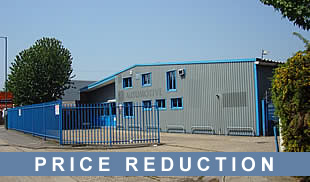 FOR SALE Two detached warehouses/industrial units with gated Yard