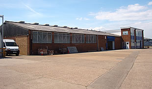 Units to let at William Harbrow Estate, Erith